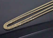 "Brand New Palm Chain For Men 10K Yellow Gold 26""  3mm A7B3 Franco, Rope, Cuben"