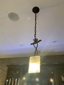 Pendant Light Fixture Antique Bronze Finish Hanging Chandelier Kitchen Island