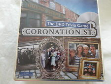 El DVD juego de Trivia Coronation Street Nueva Sellada Tin Box