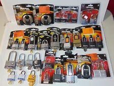 Large lot of Pad locks Padlocks Master Lock Locks Bike Safety & Security