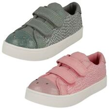 Girls Clarks Casual Canvas Shoes 'Pattie Lola'