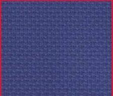 "1yd 14ct NAVY Charles Craft Aida Cross Stitch Fabric 36x60"" NEW"