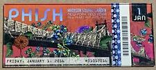 Phish Ticket Magnet New Years Eve Nye Run 1/1 2016 Madison Square Garden
