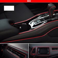 5M FLEXIBLE TRIM FOR BMW INTERIOR EXTERIOR MOULDING STRIP DECORATIVE LINE RED