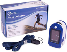 Roscoe Medical Finger Pulse Oximeter Oxygen Saturation Monitor Pediatric Amp Adult