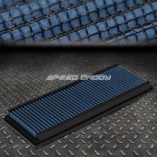 FOR 99-15 MERCEDES-BENZ V6/V8 BLUE REUSABLE&WASHABLE HIGH FLOW PANEL AIR FILTER