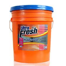 Ultra Fresh Platinum BLUE + FABRIC SOFTENER Liquid Laundry Detergent-5 Gallon-HE