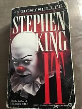 Stephen King ~ It ~1987 First Signet Edition ~ Paperback Original Cover