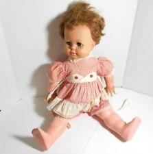 Vintage Kissy Doll by Ideal Toy Co Still Kisses Original Dress