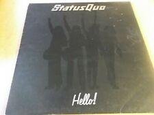 STATUS QUO,HELLO,LP ON VERTIGI 6360098,1973