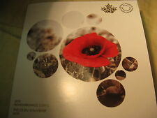 Canada 2015 Flanders Fields $2 Coin Rcm Album Remembrance Day Commemorative.