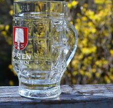 NEW SPATEN MUNCHEN .25 LITER DIMPLED GERMAN GLASS BEER MUG