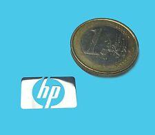 HP METALISSED CHROME EFFECT STICKER LOGO AUFKLEBER 17x11mm [522]