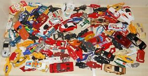 Scalextric etc load of old car shells - most have damage - some minor some major