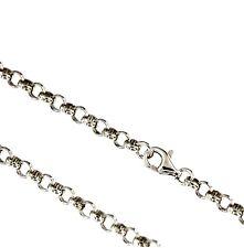 2836a17394a1 Silberkette 925 Silber Ø 3,8 mm 40 - 90 cm Halskette Kette Anker rund