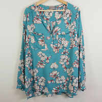 [ SUSSAN ] Womens Long Sleeves Print Blouse Top NEW | Size AU 16 or US 12