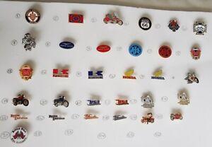 Classic Bikers Motorcycle Rockers Trike Collectors Enamel Pin Badges Route 66