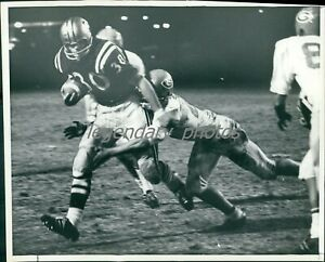 1970s Larry Mushinskie Drafted by Dallas Cowboys Original News Service Photo