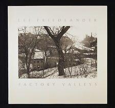 Lee Friedlander Factory Valleys New & Signed Photography Book