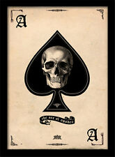 Ace Of Spades - Framed 30 x 40 Official Print