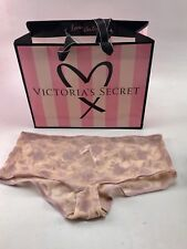 NWT Victoria's Secret Panties Cheeky Panty Velvet and Lace  Sz Small w gift bag