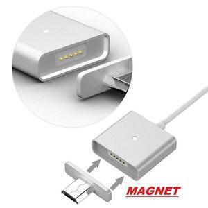 2 x Magnet Ladekabel Micro USB passend zu Samsung Galaxy S5 S6 Edge , HTC ,Sony