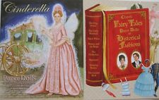SPECIAL OFFER! 2 Books: CINDERELLA and CLASSIC FAIRY TALES Paper Dolls