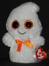 TY BEANIE BOOS - GHOSTY the GHOST - MINT with MINT TAG