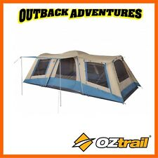 OZtrail Family Dome Tent 10 Person 3 Room Camping Hiking Camp Travel Outdoor