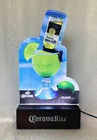 Corona Rita LED Light Beer Bar Sign Margarita Electric On Off Switch