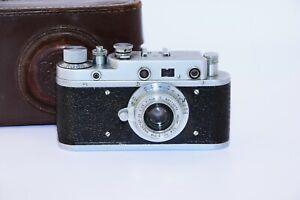 Rare Zorki-1(C) (S) VINTAGE USSR Copy Leica Film Camera w/s lens industar-22 EXC