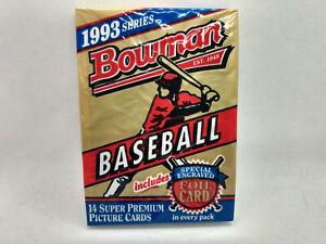1993 Bowman Baseball MLB Cards SEALED Packs - Derek Jeter RC??? 1x card pack