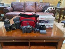 Canon EOS 20D 8.2MP Digital SLR Camera - Black (Kit w/ EF-S 70-300mm Lens)