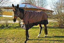 *1200 D. OUTDOORDECKE+HIGHNECK Fleecefutter 125 cm Braun-Schwarz