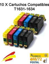 10 x Cartuchos de tinta NonOem Epson 2630WF , 2650 , WF 2010w 16XL