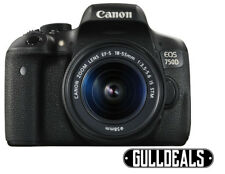 Canon EOS 750D 24.2MP Digital SLR Camera Black Kit w/ 18-55mm Lens UK DISPATCH