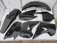 RACE TECH BLACK KAWASAKI PLASTIC KIT KX125 KX250  2003 2004 2005 2006 2007 2008