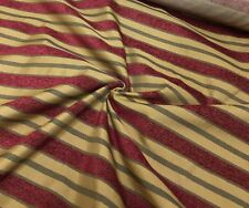 PARKER KNOLL BALENCIAGIA GOLD RED LUXURIOUS UPHOLSTERY FABRIC 30 METRES