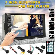 7'' HD Touch Screen Car Stereo Radio GPS Navi MP5 Player 2DIN Bluetooth FM + Cam