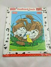 Playskool 101 Dalmatians Dog Chick Puzzle 9 Pcs