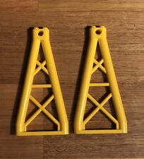 2 x YELLOWLEGO TRIANGULAR GIRDER (64449) 1 x 6 x 10
