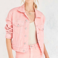 Urban Outfitters BDG Pink Denim Jacket, Size M