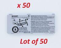 50x OEM Sharp Audiovox/ UTStarcom Battery PV-BL11 for PV200, PV150, Sidekick 3
