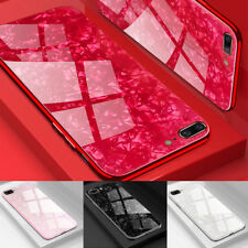 Shockproof Marble Tempered Glass Case Cover For Phone 11 Pro Max XR XS 7 8 Plus