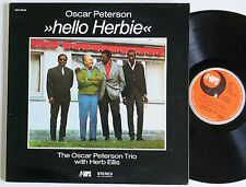 OSCAR PETERSON TRIO WITH HERB ELLIS HELLO HERBIE MPS LP