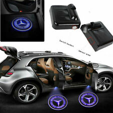 For Mercedes Benz 2PC Wireless LED Door Step Courtesy Light Laser Logo Projector