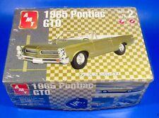 1965 Pontiac GTO Convertible Car Model Kit AMT 1/25th Scale #31514