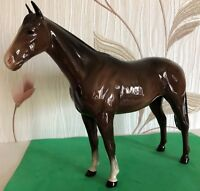 BESWICK HORSE IMPERIAL THE QUEEN'S HORSE BROWN GLOSS MODEL No 1557 PERFECT