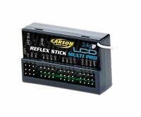 Carson Empfänger Reflex Stick Multi Pro LCD 2.4G 500501544