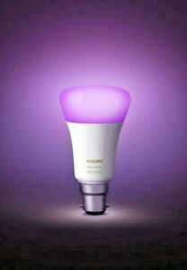Philips Hue B22 Richer Colours White and Colour Light Bluetooth